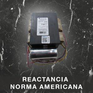 Reactancia Norma Americana