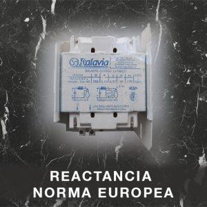Reactancia Norma Europea