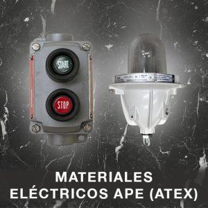 Materiales Eléctricos APE (ATEX)